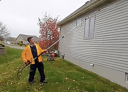 Siding Power Washing Services Rochester